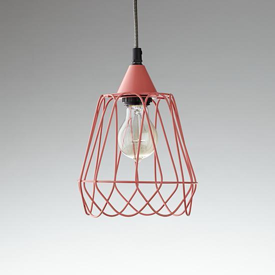 industrial gold hanging lamp