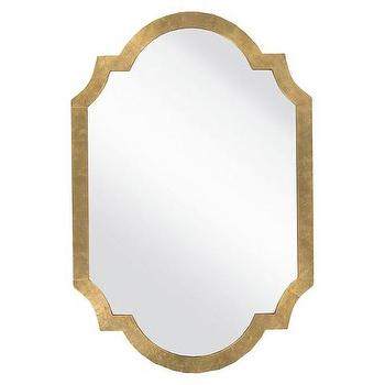 Surya Medium Gold Decorative Wall Mirror