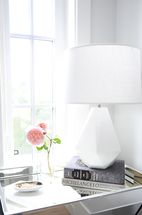 Nightstand in front of window design ideas view full size aloadofball Choice Image