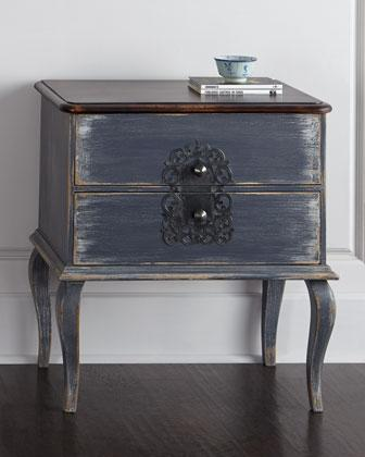 White carved wood drawer nightstand for White wood nightstand