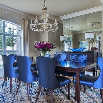 Blue Dining Rooms Design Ideas