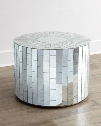 Valerie Silver Mirrored Coffee Table
