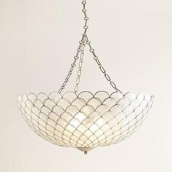 Kathryn Capiz Shell Pendant Light