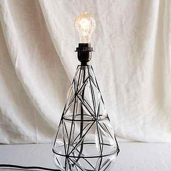 Magical Thinking Blown Glass Lamp Base
