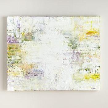 RFA Fine Art Blotch Abstract Painting