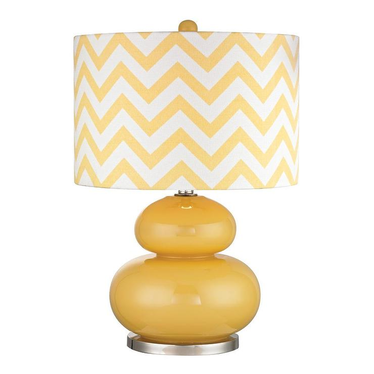 Mustard Ceramic Table Lamp At Kirkland S