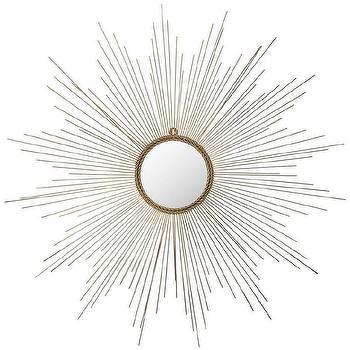Safavieh Marinda Sunburst Gold Mirror