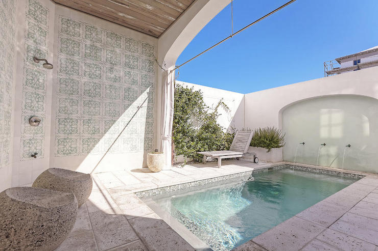 Moroccan Style Pool Cottage Pool