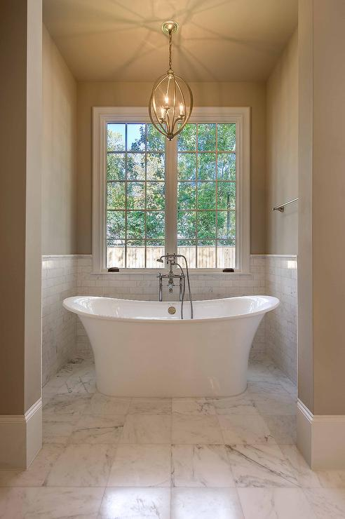 Tub in Alcove. Tub in Alcove   Transitional   Bathroom