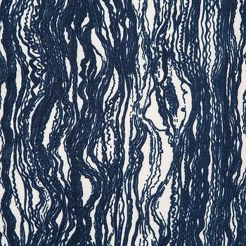 Blauvelt Blue Waves Fabric
