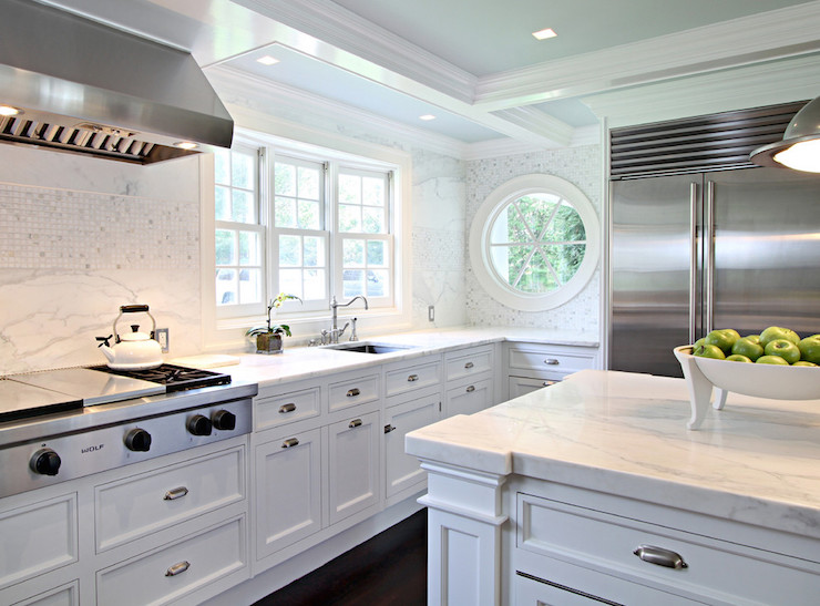 Cooktop Pot and Pan Drawers Transitional Kitchen