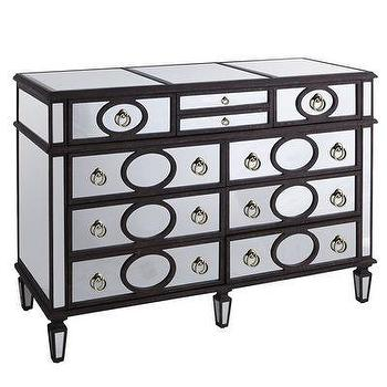 Noir Decor Pale Dresser In Black