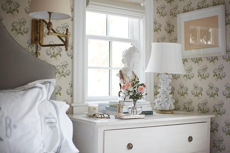 Shabby Chic Bedroom With Jewelry Bust Cottage Bedroom - Shabby chic bedroom blue