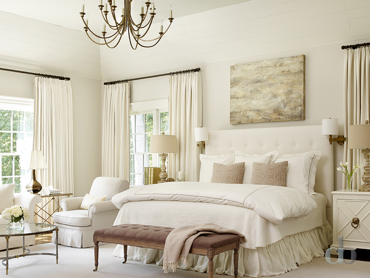 Transitional Ivory Bedrooms