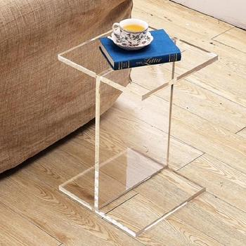 Clear Acrylic Accent Table
