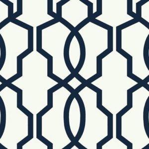 Ashford House Hourglass Trellis Wallpaper