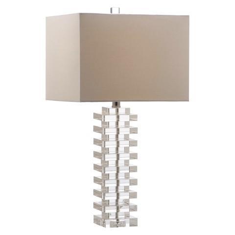 Safavieh Swift Clear Crystal Table Lamp