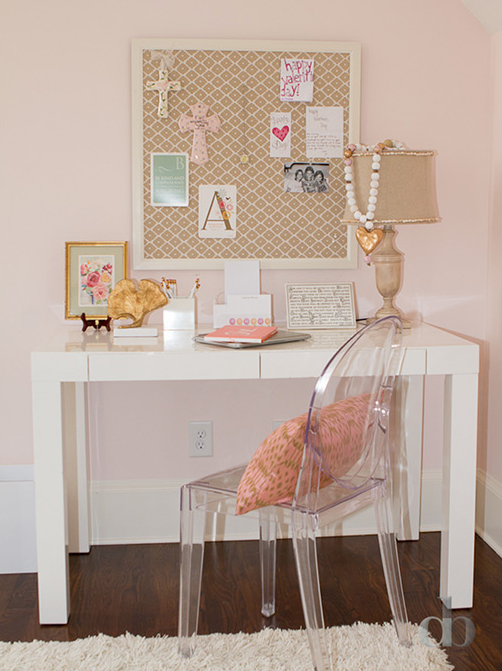 Overstock Parsons Desk Contemporary Girl S Room