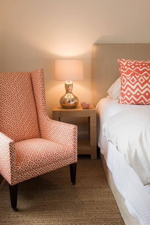 Tan And Orange Powder Rooms Design Ideas