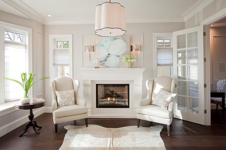 Fireplace With Wingback Chairs Part 67