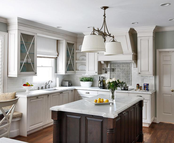 Hudson Valley Lighting Orchard Park Traditional Kitchen - Center island lighting