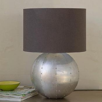 Empire Table Lamp Base and Shade