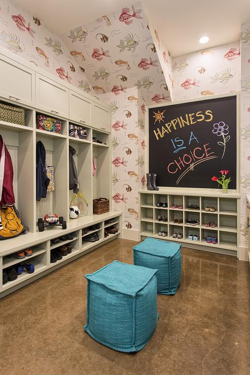 Mudroom Chalkboard Design Ideas