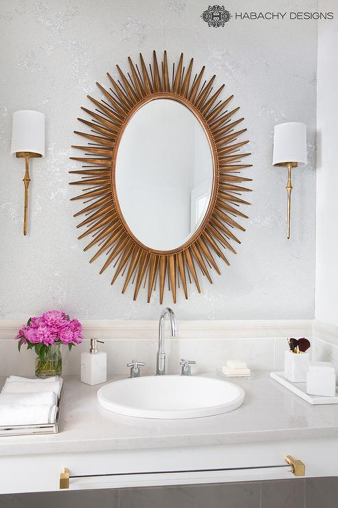 Dauphine Sconces In Gilded Iron Great Pictures