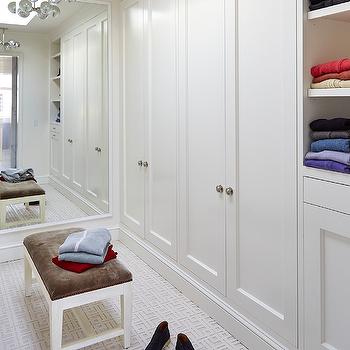 Bi Fold Closet Doors, Transitional, Closet