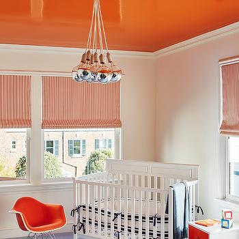 Nursery with Corner Crib, Contemporary, Nursery