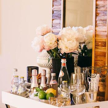 Tray Table Bar, Transitional, Dining Room