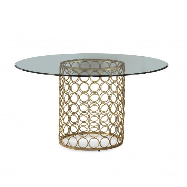 Marlene Gold Dining Table