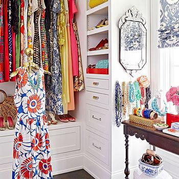 Closet with Jewelry Table