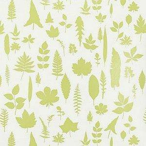 Schumacher Leaves Chartreuse Wallpaper