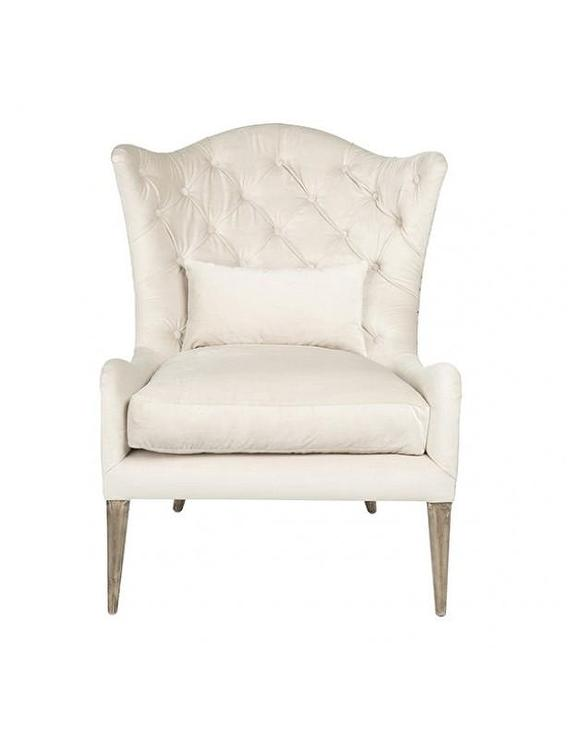 Marley Ivory Salon Chair By Aidan Gray