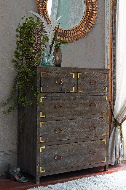 Portside Brown Dresser