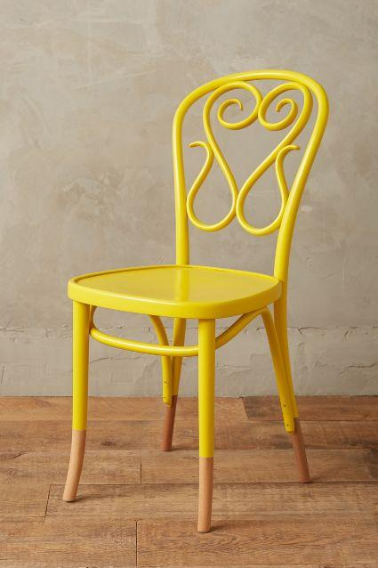 Yellow Bentwood Chairs Pieces