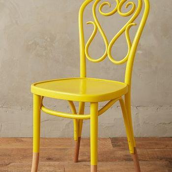 Scrolled Bentwood Dining Chair