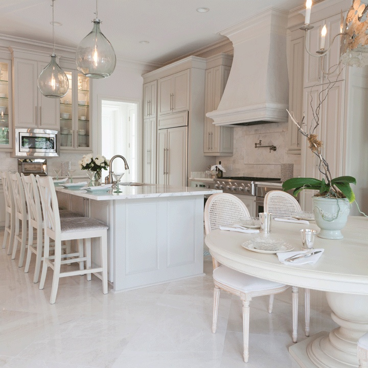 Incroyable Gray French KItchen Design