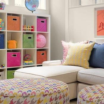 Basement Playroom Storage Ideas, Contemporary, Basement