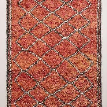 Hand-Tufted Ourain Rug