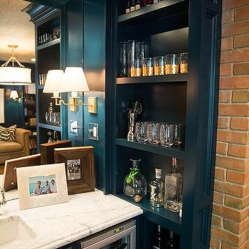 Den library office design decor photos pictures ideas for Office wet bar