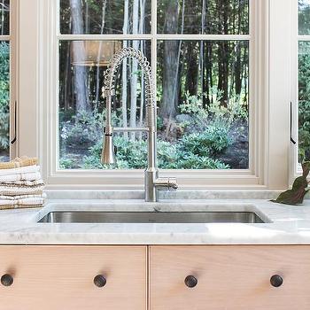 Kitchen Sink Under Windows