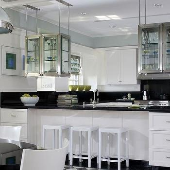 see through hanging cabinets design ideas