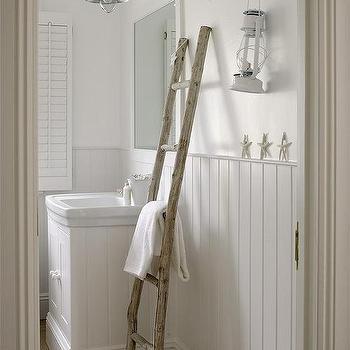 White Bathrooms With Beadboard beadboard bathroom walls design ideas