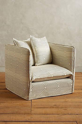 Linen Crosby Sofa Slipcover World Market