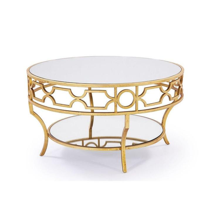 Round table with shelf products bookmarks design inspiration and ideas Gold metal coffee table