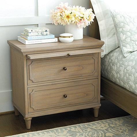 isabella natural large nightstand Large Nightstands