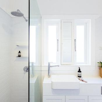 Bathrooms White And Gold Showers Design Ideas