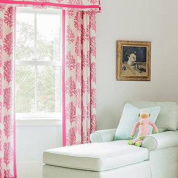 Nursery with Chaise Lounge, Transitional, Nursery